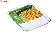 Pyrex Transparent Glass Multipurpose Baking Tray 32Cm Bakeware Kitchen Home New