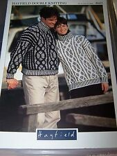 2 x UNISEX SWEATER PATTERNS in Double Knitting