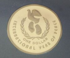 1986 Australia International Year Of Peace ~ 7 Coin Proof Set