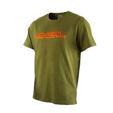 O'neal MX MTB Piledriver Short Sleeve T-Shirt Green Large 1012CL-104