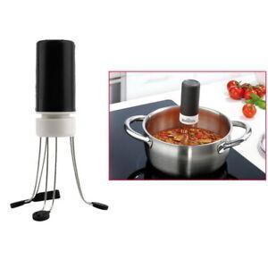 3 Speeds Cordless Stirer Tool Stick Blender Mixer Automatic Hand Free Kitchen