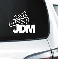 A290 Eat Sleep JDM drift illest drift racing car wall laptop decal sticker