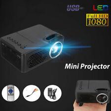 Mini LED Full 1080P Projektor Handy Multimedia Heimkino Beamer Home Theater.