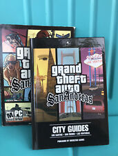 Grand Theft Auto (GTA) San Andreas - Second Edition (PC DVD-ROM) w/ City Guides