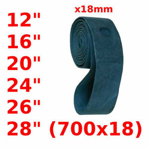 "UNVERSAL BIKE RIM TAPE STRIP 12"" 16"" 20"" 24"" 26"" 28"" 700C x18MM ROAD MTB BICYCLE"