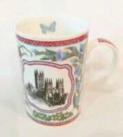 Canterbury Cathedral Fine Bone China Souvenir Coffee Cup Mug Made in England