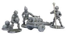 Mirliton - Condottieri Artillery crew and Bombard cannon - 15mm