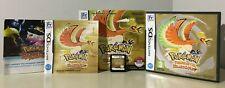 Pokemon Version Or HeartGold (Nintendo DS, 2010) FRENCH VERSION NO POKEWALKER
