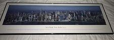 "Blakeway Panorama of New York City Skyline - Midtown Manhattan 40""x 13.5"" Framed"