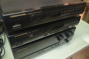 MARANTZ STEREO HI FI SYSTEM - AMP WITH PHONO INPUT, CD AND TUNER