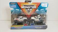 Monster Jam Official Monster Mutt Dalmatian Vs Husky 1:64 Scale Die Cast -NEW