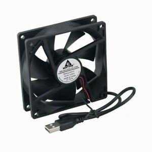 USB Fan 5V  Computer PC CPU Case  9225 92mm 92x92x25mm  DC  G13