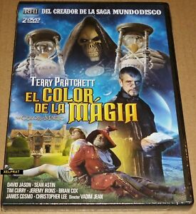EL COLOR DE LA MAGIA / Terry Pratchett's The Colour of Magic DVD R2 English Espa