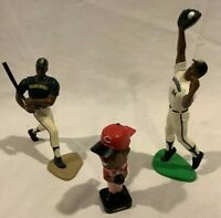 Lot of 3 Different Ken Griffey Jr. SLU Starting Lineup Baseball Rookie1990's