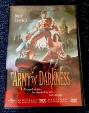 Evil Dead Army Of Darkness - Anchor Bay Ltd Numbered Edition Director's Cut DVD