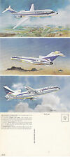 DELTA AIRLINES OVERSIZED ADVERTISING UNUSED COLOUR POSTCARD