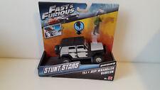 Fast & Furoius 7 Stunt Stars TEJ +Jeep Wrangler Modellauto Mattel model car NEU