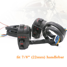 """7/8"""" Motorcycle ATV 22mm  Switch High/Low Beam Light Turn Signal Horn Switch"""