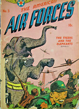 The American Air Forces #3 Comic Golden Age 1945 GD War