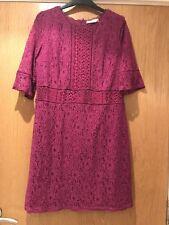 Pink Oasis Lace Dress Size L