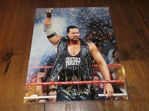 Kevin Nash Signed Wrestling 16x20 Photo Auto JSA Witness COA 1A