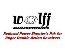 Wolff Reduced Power Spring Kit for Ruger Security Six, Speed Six & Service Six