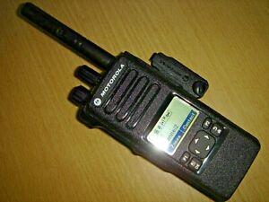 Motorola DP4600 UHF 403-527MHz DMR Digital c/w battery, antenna & clip #1