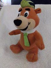 "YOGI Bear w/ Tie Plush Stuffed Animal 9"" Cartoon Network Corsum Intl 1997"
