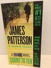 Private: Count to Ten : A Private Novel by James Patterson and Ashwin Sanghi NEW