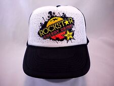 Rockstar Energy Drink Trucker Cap Black Mesh Snapback Hat Nissun