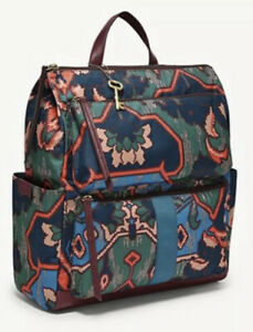 Fossil Jenna Backpack Multi Color Brand New