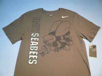 Nike USA Military U.S. Navy Seabees BRAND NEW t-shirt athletic cut NWT