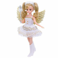 TAKARA TOMY JAPAN LICCA DOLL LW-19 GOLDEN ANGEL DRESS & SHOE NEW LA46532