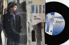 "RICHARD MARX - RIGHT HERE WAITING - 7"" 45 VINYL RECORD w PICT SLV - 1989"