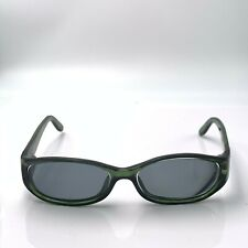 Vintage Gucci Gg2566 Green Oval Sunglasses Italy Frames Only