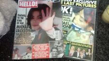 Micheal Jackson Memorabilia!.King of Pop!his passing..collection mags/newspapers