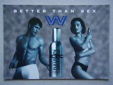 THE WAREHOUSE NIGHTCLUB LAUNCH OF DA VINCI'S XTC BETTER THAN SEX ADVERT POSTCARD