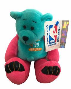 1999 San Antonio Spurs Throwback Color Tim Duncan Mattel Limited Treasures Bear