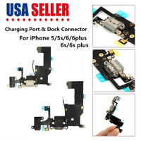 Charger Charging Dock Port Connector Flex Cable Replacement for iPhone 5 5S 6 6S