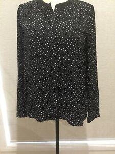 TOKITO Womens Black Shirt Size 12