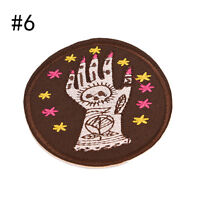 8 Style Patch Embroidered Iron On Applique patches for clothes DIY AccessoriesLJ