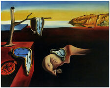 Persistence of Memory - Hand Painted Salvador Dali Oil Painting On Canvas