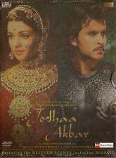 JODHAA AKBAR (HRITHIK ROSHAN, AISHWARYA RAI) - BOLLYWOOD 3 DISC SPECIAL. ED DVD