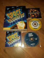 Space Invaders + Asteroids (PC, 1999) CD-Rom Activision Big Box 98-95 Windows