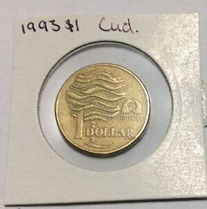 $1 coin 1993  cud error #15