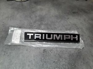 Triumph Tr6 2000 & 2500 Saloons most triumph cars rear badge new old stock.