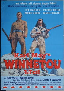Winnetou I Filmplakat