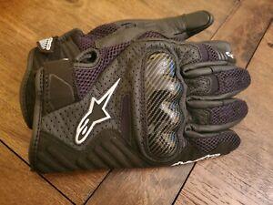 Alpinestars Astar SMX-1 Air V2 Street Motorcycle Gloves Black - Men's Large XL