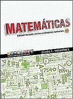 NEW Glencoe Math, Course 2, Volume 2, Spanish Stu.. 9780021448890 by PRICE ET AL