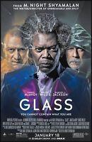 Glass movie poster (c) - 11 x 17 - James McAvoy, Bruce Willis, Samuel L. Jackson